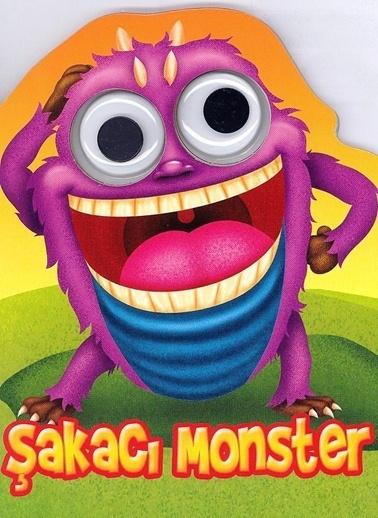 Çiçek Yayıncılık Patlak Gözler Dizisi-Şakacı Monster Renkli